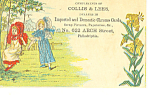 Scrapbooking Victorian Trade Card tc0082