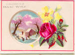 Click here to enlarge image and see more about item tc0156: Isaac Wolf Colthier Trade Card