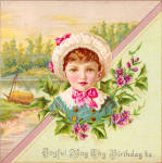 Click here to enlarge image and see more about item tc0221: Birthday Card