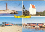 Click here to enlarge image and see more about item u0070: Denmark Multi View Postcard