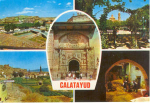 Calatayud Spain Multi View Postcard