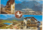 Click here to enlarge image and see more about item u0105: Gasthof Austria Multi View Postcard