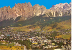 Click here to enlarge image and see more about item v0043: Cortina D'Ampezzo Italy Postcard