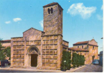 Ascoli Church Scene Italy Postcard v0122