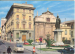 Click here to enlarge image and see more about item v0123: Ascoli Piazza Roma Scene Italy Postcard