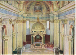 Click here to enlarge image and see more about item v0124: Interior Scene Italian Basilica Postcard