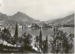 Shoreline of Garda Lake  Italy Postcard v0125