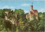 Click here to enlarge image and see more about item v0131: Castle Lichtenstein Postcard v0131