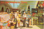 Click here to enlarge image and see more about item v0150: Tijuana Old Mexico Shopping Postcard
