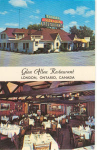Click here to enlarge image and see more about item v0199: Glen Allen Restaurant Ontario Canada Postcard v0199