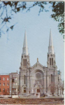 Click here to enlarge image and see more about item v0203: St Anne De Beaupre Basilica Postcard