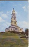 Click here to enlarge image and see more about item v0221: Masonic National Monument Alexandria VA Postcard v0221