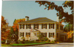 Click here to enlarge image and see more about item v0249: The Lenox National Bank Lenox MA Postcard v0249
