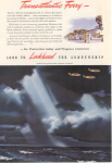 Lockheed Transatlantic Ferry Ad