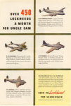 Lockheed Aircraft Production Ad