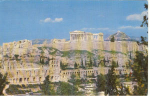 Click here to enlarge image and see more about item w0035: Olympic Airline Postcard Acropolis w0035