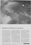Click here to enlarge image and see more about item w0047: Boeing Seven Miles Up Ad w0047