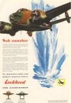 Lockheed  WWII Sub Smasher Ad