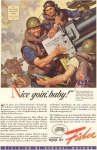 Click here to enlarge image and see more about item w0101: General Motors WWII Weapons Volume Ad w0101