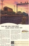 Click here to enlarge image and see more about item w0102: GM Diesel Engines in War Ad w0102