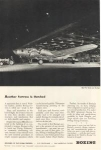 Click here to enlarge image and see more about item w0124: Boeing WWII B17 Roll Out Ad w0124