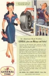 Click here to enlarge image and see more about item w0169: General Tire Pretty Woman Ad w0169