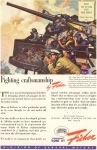 Click here to enlarge image and see more about item w0178: General Motors WWII Navy 5 Inch Gun Ad w0178