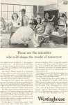 Westinghouse  WWII Science Clubs  Ad w0180