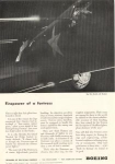 Click here to enlarge image and see more about item w0189: Boeing WWII Firepower of a Fortress Ad w0189