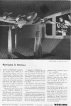 Click here to enlarge image and see more about item w0284: Boeing WWII Hurricane in a Harness Ad w0284
