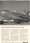 Boeing WWII B 29 in Service Ad w0325