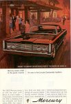Click here to enlarge image and see more about item w0351: 1965 Mercury 4-Door Hardtop Ad