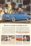 Click here to enlarge image and see more about item w0352: 1950 Studebaker  Land Cruiser Ad w0352