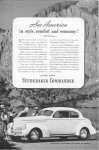 Click here to enlarge image and see more about item w0355: 1940 Studebaker  Commander Ad w0355