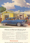 Click here to enlarge image and see more about item w0356: 1948 Studebaker Land Cruiser Ad