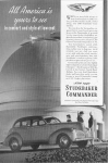 Click here to enlarge image and see more about item w0357: 1940 Studebaker  Commander Ad w0357
