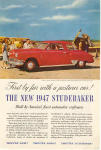 Click here to enlarge image and see more about item w0365: 1947 Studebaker Commander Advertisement