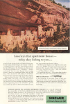 Sinclair Oil Mesa Verde National Park Ad