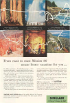 Sinclair Oil Mission 66 National Parks Ad