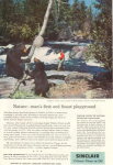 Sinclair Oil Nicolet National Forest  Ad