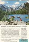 Sinclair Oil Bear Lake  Ad