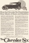 Click here to enlarge image and see more about item w0398: 1924 Chrysler Six Phaeton Ad w0398
