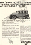 1926 Chrysler 58 Sedan Ad