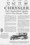 Click here to enlarge image and see more about item w0411: Chrysler 52 62 72 80 Cars Ad