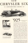 1930 Chrysler Six Convertible Coupe Ad