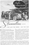 1934 Chrysler Airflow Streamline Ad