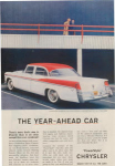 Click here to enlarge image and see more about item w0432: 1956 Chrysler Windsor AD w0432