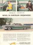 Click here to enlarge image and see more about item w0433: 1959 Chrysler Windsor Ad w0433
