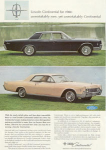 1966 Lincoln Continental Ad