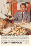 Click here to enlarge image and see more about item w0451: Air France Taste of Paris Ad
